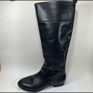 J Crew Leather Midcalf Boots Womens 5.5